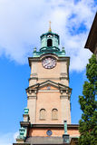 Stockholm Cathedral (Storkyrkan) Royalty Free Stock Photography