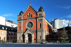 Stockholm. Catholic Cathedral Royalty Free Stock Photo