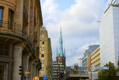 Stockholm center, Sweden Royalty Free Stock Photos