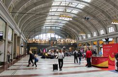 Stockholm Central Station Stock Image