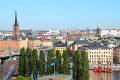 Stockholm city Royalty Free Stock Photo