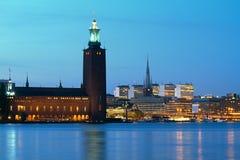 Stockholm city. Royalty Free Stock Photo