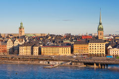 Stockholm city Royalty Free Stock Photography