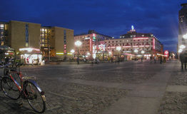 Stockholm city centre Royalty Free Stock Images