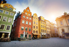 Stockholm city early morning Stock Image