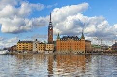 Stockholm city Gamla Stan Stock Image