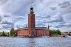 Stockholm city-hall Royalty Free Stock Image