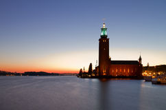 Stockholm City hall. Royalty Free Stock Images