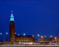Stockholm City Hall Royalty Free Stock Images