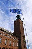 Stockholm City Hall Royalty Free Stock Photography