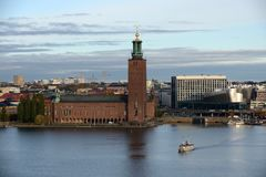Stockholm City Hall Royalty Free Stock Photos