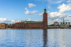 The Stockholm City Hall stock photo