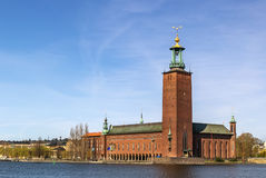 Stockholm City Hall Royalty Free Stock Photo