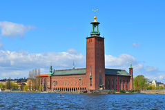 Stockholm City Hall Stock Photography