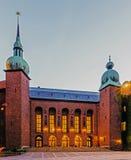 Stockholm City Hall Royalty Free Stock Photo