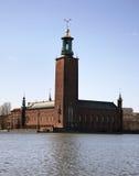 Stockholm City Hall in Stockholm. Sweden Royalty Free Stock Image