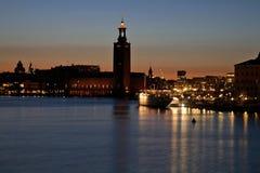 Stockholm City Hall in Stockholm. Sweden Stock Photo