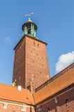 Stockholm City Hall. Stockholm, Sweden, Scandinavia, Europe Royalty Free Stock Photos