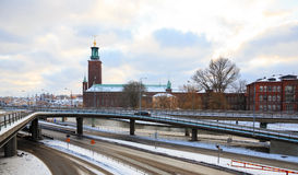 Stockholm City Hall Sweden Royalty Free Stock Images
