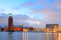 Stockholm City Hall Sweden Royalty Free Stock Photo