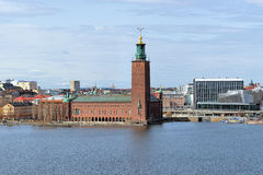 Stockholm City Hall, Sweden Stock Image