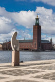 The Stockholm City Hall in Sweden Royalty Free Stock Photos