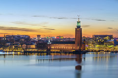 Stockholm City Hall Stock Images