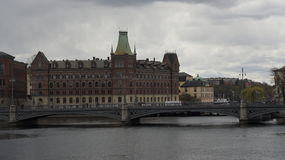 Stockholm. City on the islands and on the water Stock Photography