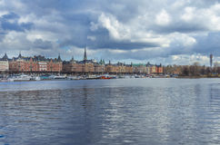 Stockholm city old center Royalty Free Stock Photos