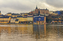 Stockholm city old center stock image