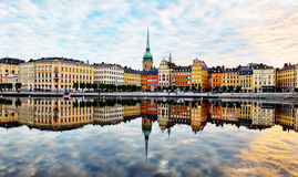 Stockholm city Stock Photography