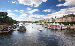 Stockholm city Stock Image