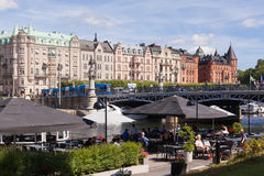 Stockholm city in summer Stock Photography