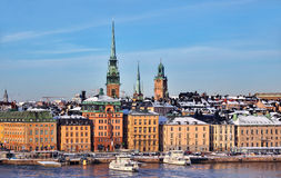 Stockholm City, Sweden Stock Photography
