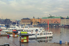 Stockholm city, Sweden Stock Photos