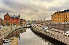 Stockholm city, Sweden Stock Image