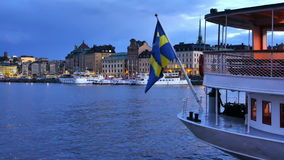 Stockholm city stock video footage