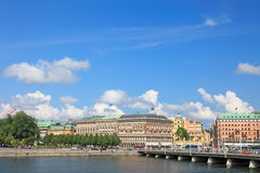 Stockholm city view. Royalty Free Stock Images