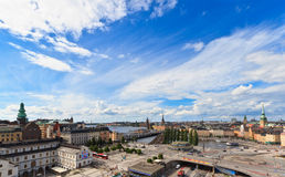 Stockholm city view Royalty Free Stock Images