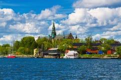 Stockholm city view - Djurgarden Stock Photos
