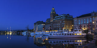 Stockholm city view Royalty Free Stock Photography