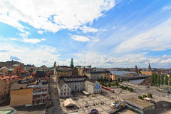 Stockholm city view Royalty Free Stock Image