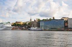 Stockholm city view Stock Photos