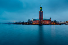 Stockholm Cityhall Located on Kungsholmen Island Royalty Free Stock Photography