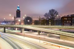 Stockholm Cityhall Royalty Free Stock Photo