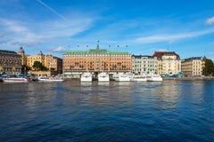 Stockholm cityscape Royalty Free Stock Photos