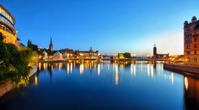 Stockholm Cityscape Stock Photos
