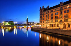 Stockholm Cityscape Stock Image