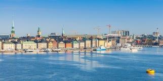 Stockholm, cityscape. Gamla Stan island Royalty Free Stock Photos