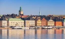 Stockholm, cityscape of Gamla Stan Stock Image